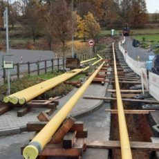 Gas HD-Netzanbindung