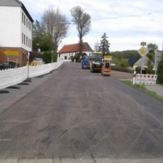 Deckenerneuerung im Zuge der B228 bei Neuenrade-Küntrop und Balve