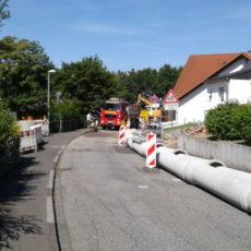 Ver- und Entsorgungsleitungen, Brüder-Grimm-Straße, Marburg