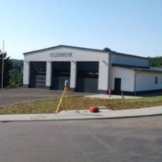 Neubau Feuerwehrhaus Gonterskirchen