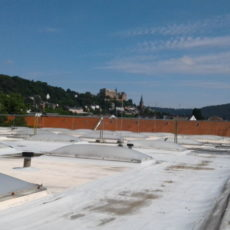 Sanierung Sporthallendach Gymnasium Philippinum Marburg